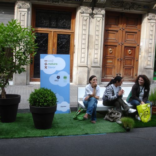Parking Day Barcelona Acció Natura
